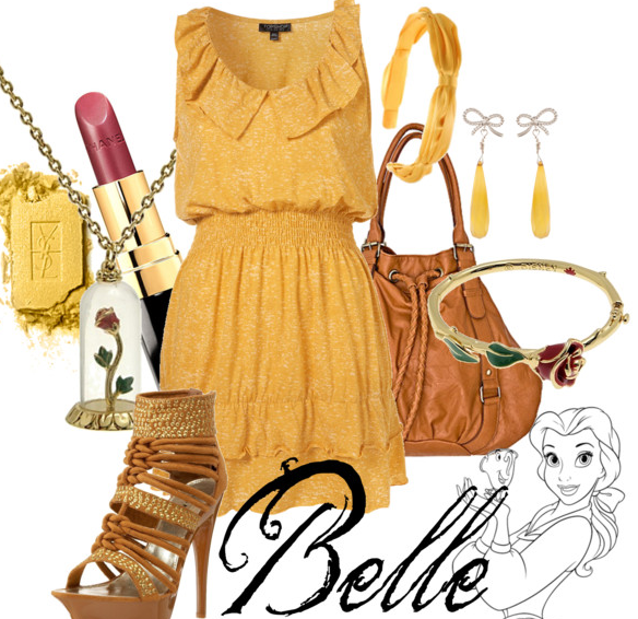 Disney Inspired Outfits Belle Want To Dress Like A D...