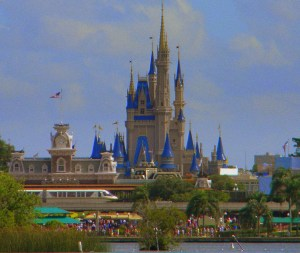Cinderella Castle, Magic Kingdom, Walt Disney World