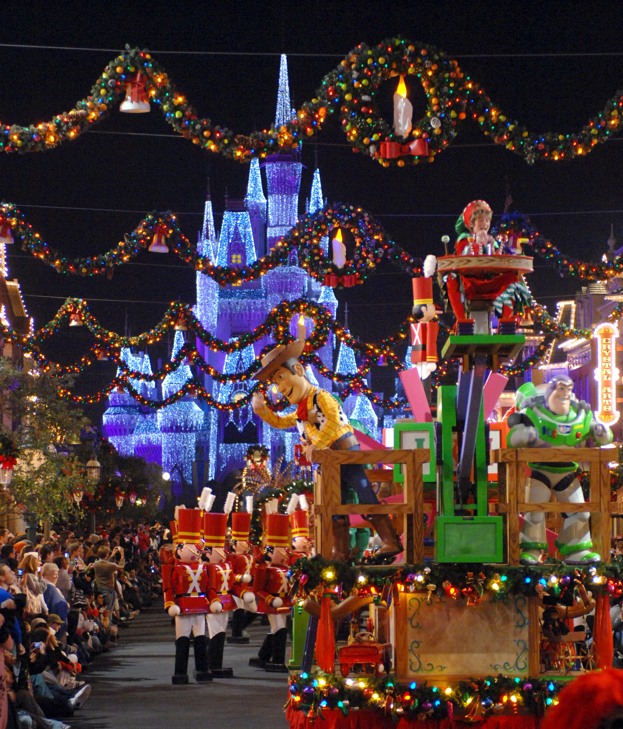 Disney World Fall & Winter Party Dates