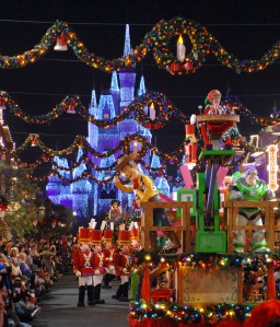 Mickey's Very Merry Christmas Parade- ©Disney