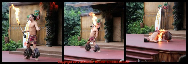 Spirit of Aloha fire dance