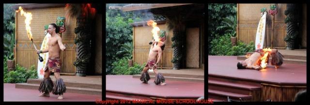 Spirit of Aloha fire dance