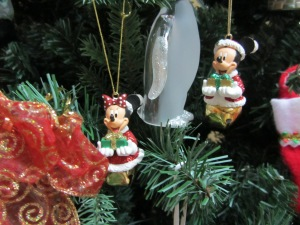 Mickey & Minnie Bell Ornaments
